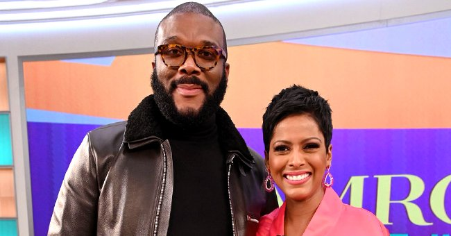 Tyler Perry Shares His Excitement after Tamron Hall's Talk Show Gets Renewed for a Second Season