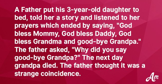 Joke: Father Learns That His Daughter Can Predict the Future
