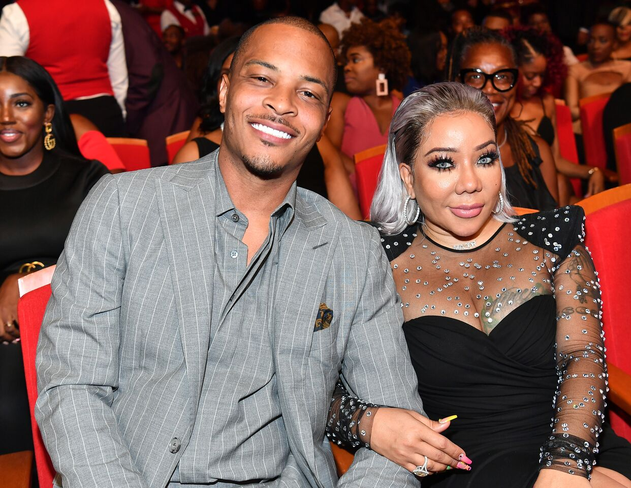 T.I. and Tameka Harris/ Source: Getty Images