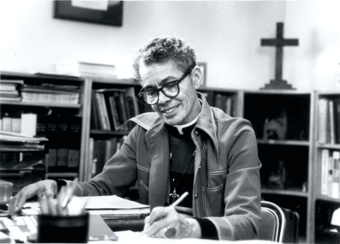 Rev. Dr. Pauli Murray   Source: Wikimedia Commons/Carolina Digital Library and Archives, UNCPauliMurray, CC BY-SA 3.0
