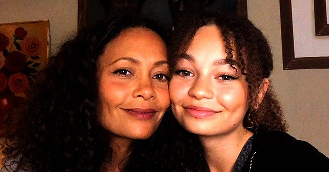 Thandie Newton of 'Mission Impossible' Poses with Daughter Nico Who Is Also an Actress (Photos)