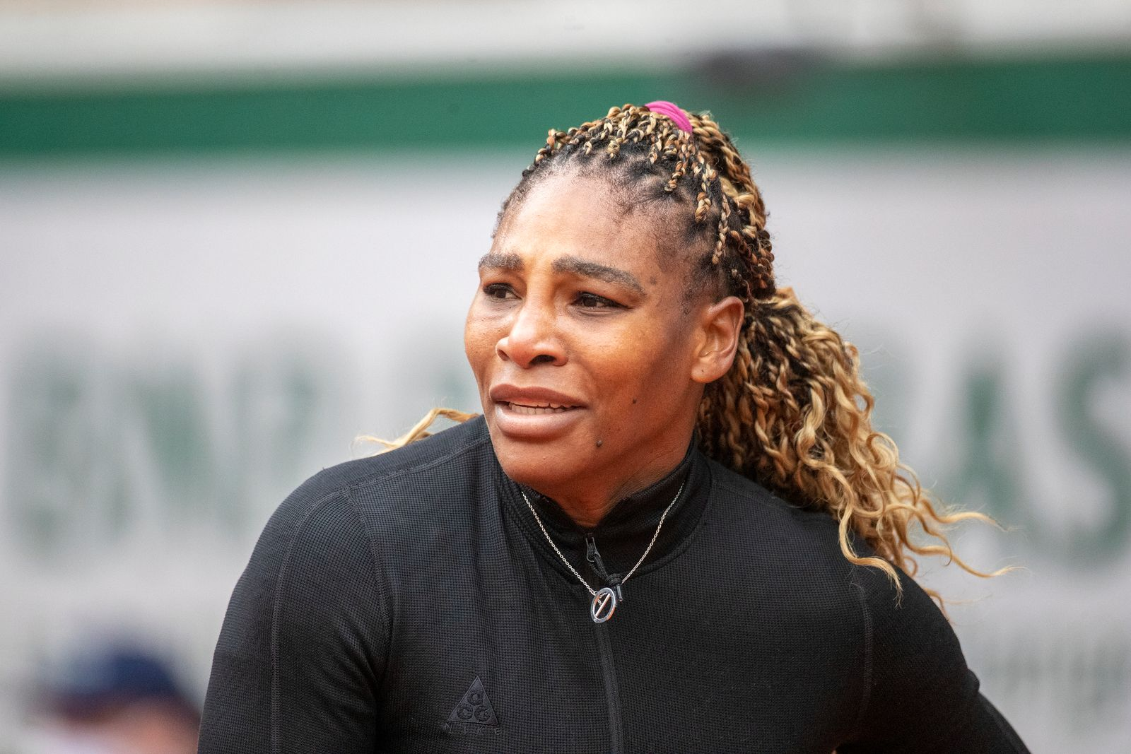 Serena Williams during the French Open Tennis Tournament at Roland Garros on September 28th 2020 | Getty Images