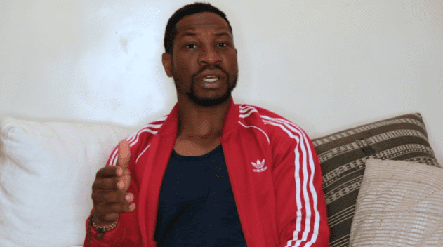 Jonathan Majors in an interview for Netflix Film Club posted in June 2020 | Photo: YouTube/Netflix Film Club