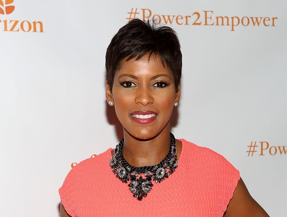 Tamron Hall, a new mother at 49. I Image: Getty Images.
