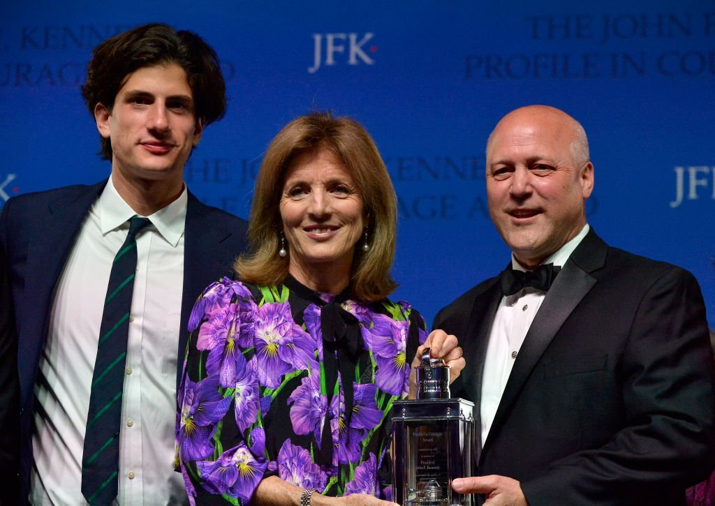 Jack, Caroline, and Mitch Landrieu on May 20, 2018 in Boston, Massachusetts | Source: Getty Images