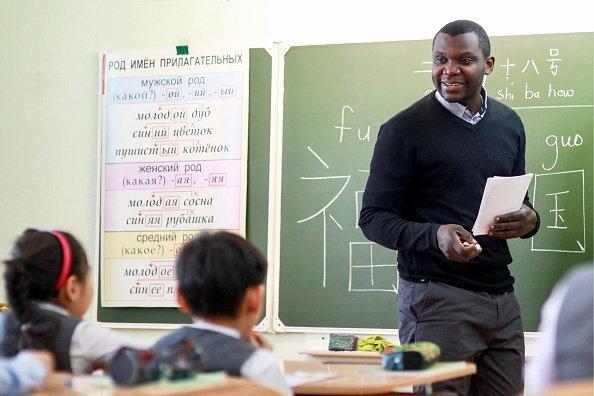 Lehrer im Unterricht | Quelle: Getty Images