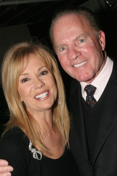 Kathie Lee Gifford and Frank Gifford at The Zipper Theater in New York. | Photo: Getty Images.