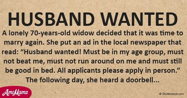 Senior Widow Wants to Date Again and Posts an Ad in the Newspaper