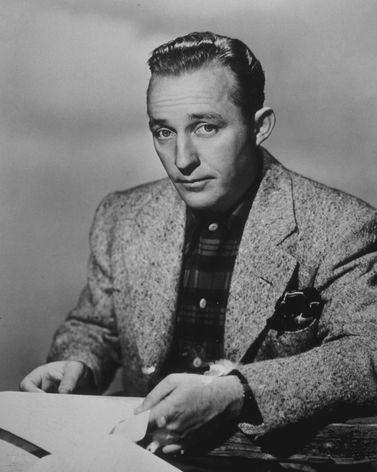 Headshot of American entertainer Bing Crosby | Getty Images / Global Images Ukraine