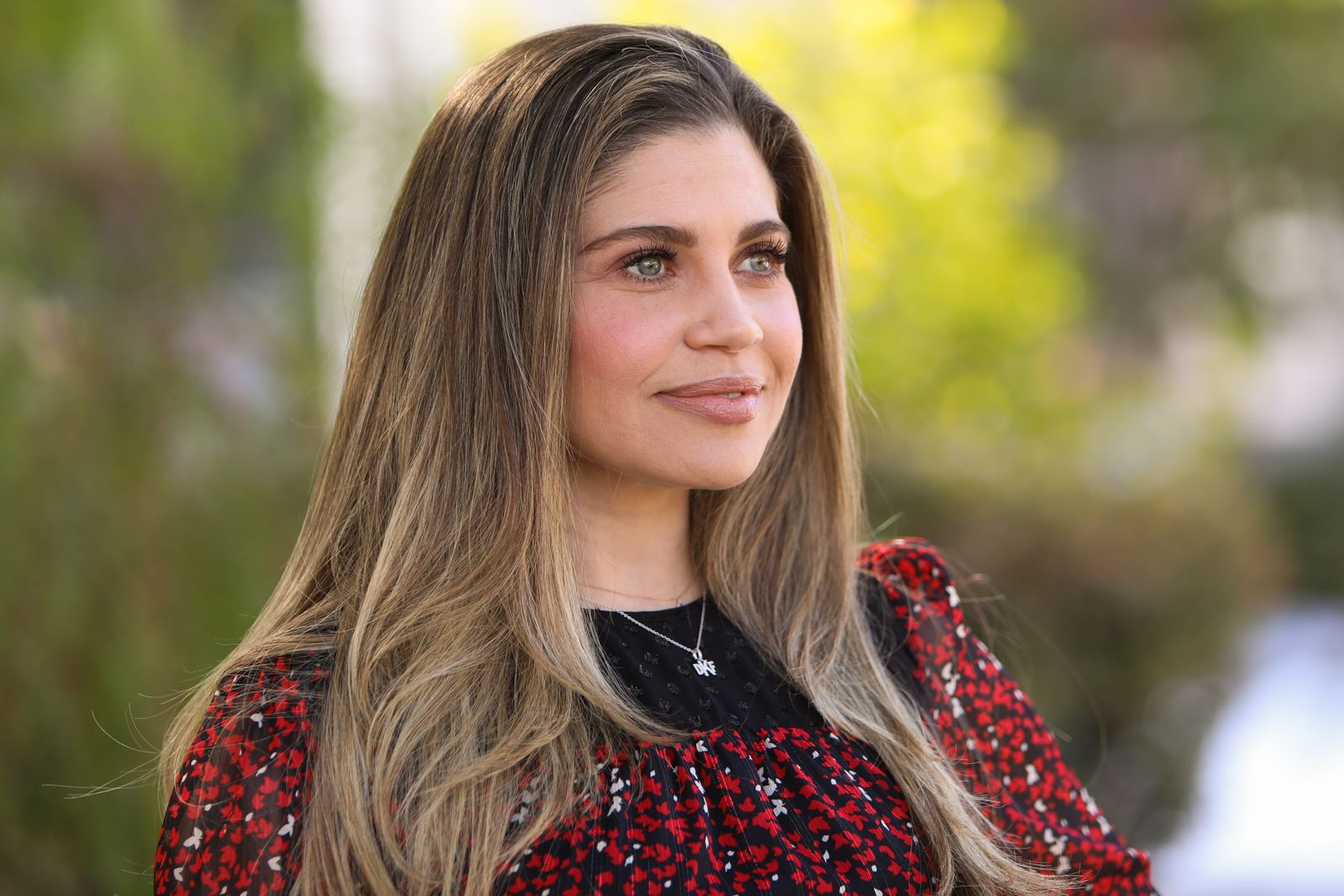 """Danielle Fishel visits Hallmark Channel's """"Home & Family"""" at Universal Studios Hollywood on January 28, 2020, in Universal City, California 
