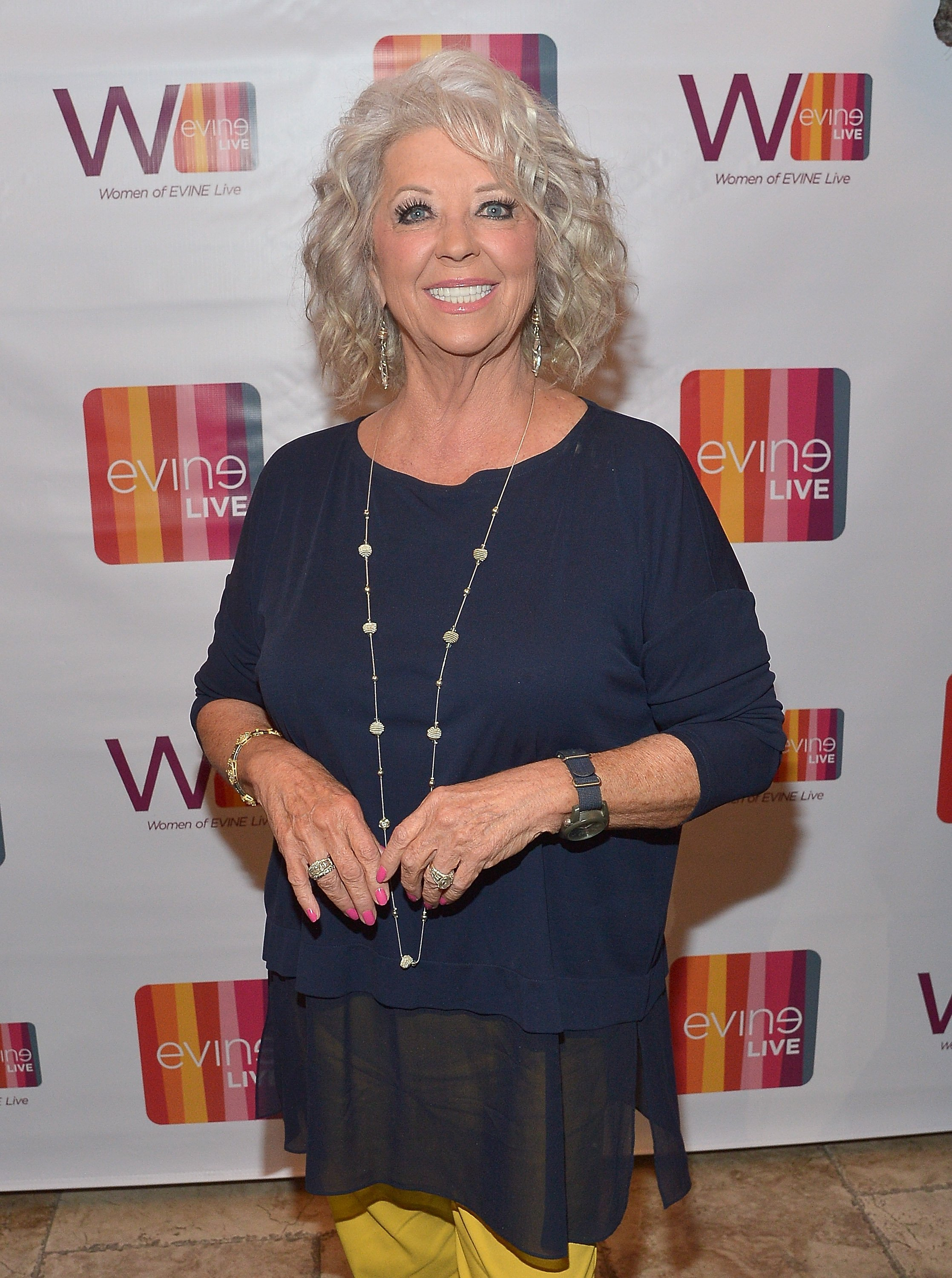 Paula Deen at the Celebrating The Women Of EVINE Live at Villa Blanca on September 29, 2015 in Beverly Hills, California | Photo: Getty Images