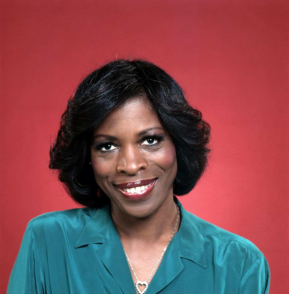 """Actress Roxie Roker, best known for her role as Helen Willis on the sitcom """"The Jeffersons,"""" poses for a portrait session in circa 1975. 