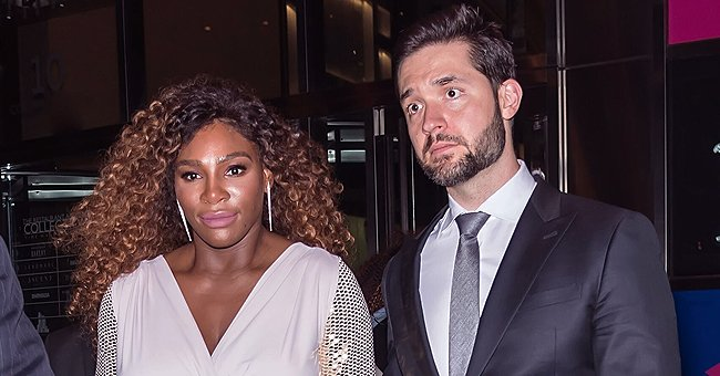 Serena Williams' Husband -Alexis Ohanian Poses with Their Baby Girl Olympia in a Self-Portrait Amid COVID-19