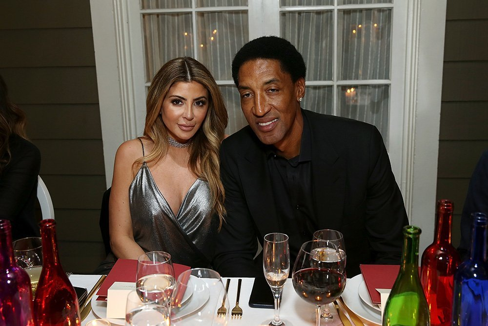 Larsa Pippen and Scottie Pippen attend the Haute Living NBA All Star Dinner Honoring Scottie Pippen on February 15, 2018 in Bel Air, California. I Image: Getty Images.