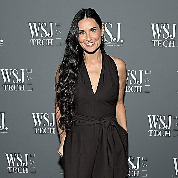 Demi Moore attends WSJ. Magazine at WSJ Tech Live at The Montage Laguna Beach | Photo: Getty Images