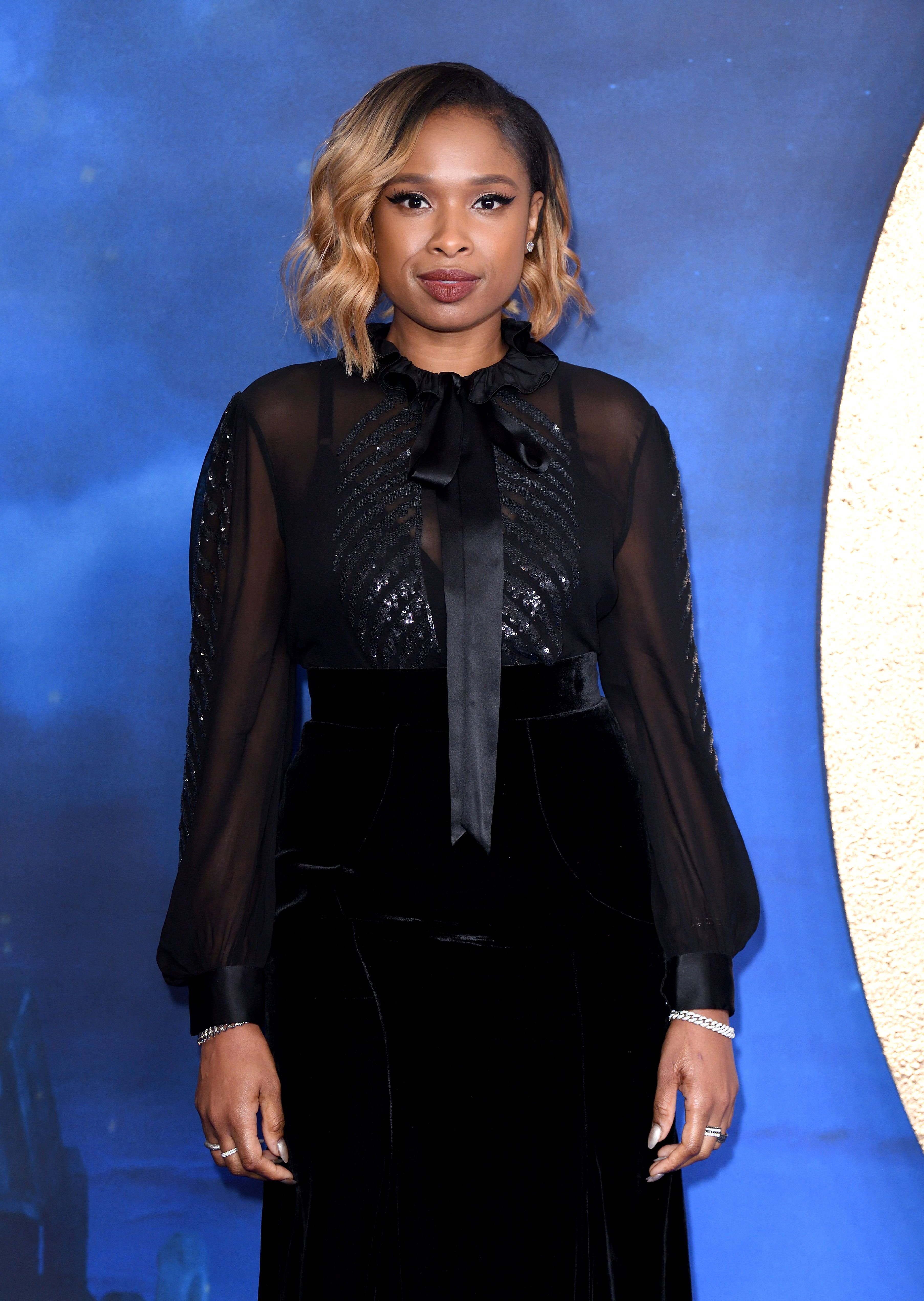 "Jennifer Hudson attends the ""Cats"" photocall at The Corinthia Hotel on December 13, 2019 in London, England. 
