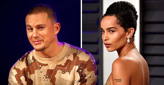 Channing Tatum on December 03, 2019 in Melbourne, Australia and Zoë Kravitz on February 24, 2019 in Beverly Hills, California   Photo: Getty Images