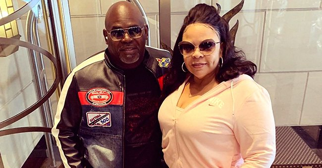 Tamela Mann of 'Meet the Browns' Fame Flaunts Slimmer Figure in Pink Hoodie & Red Pants in Recent Pics Amid Weight Loss
