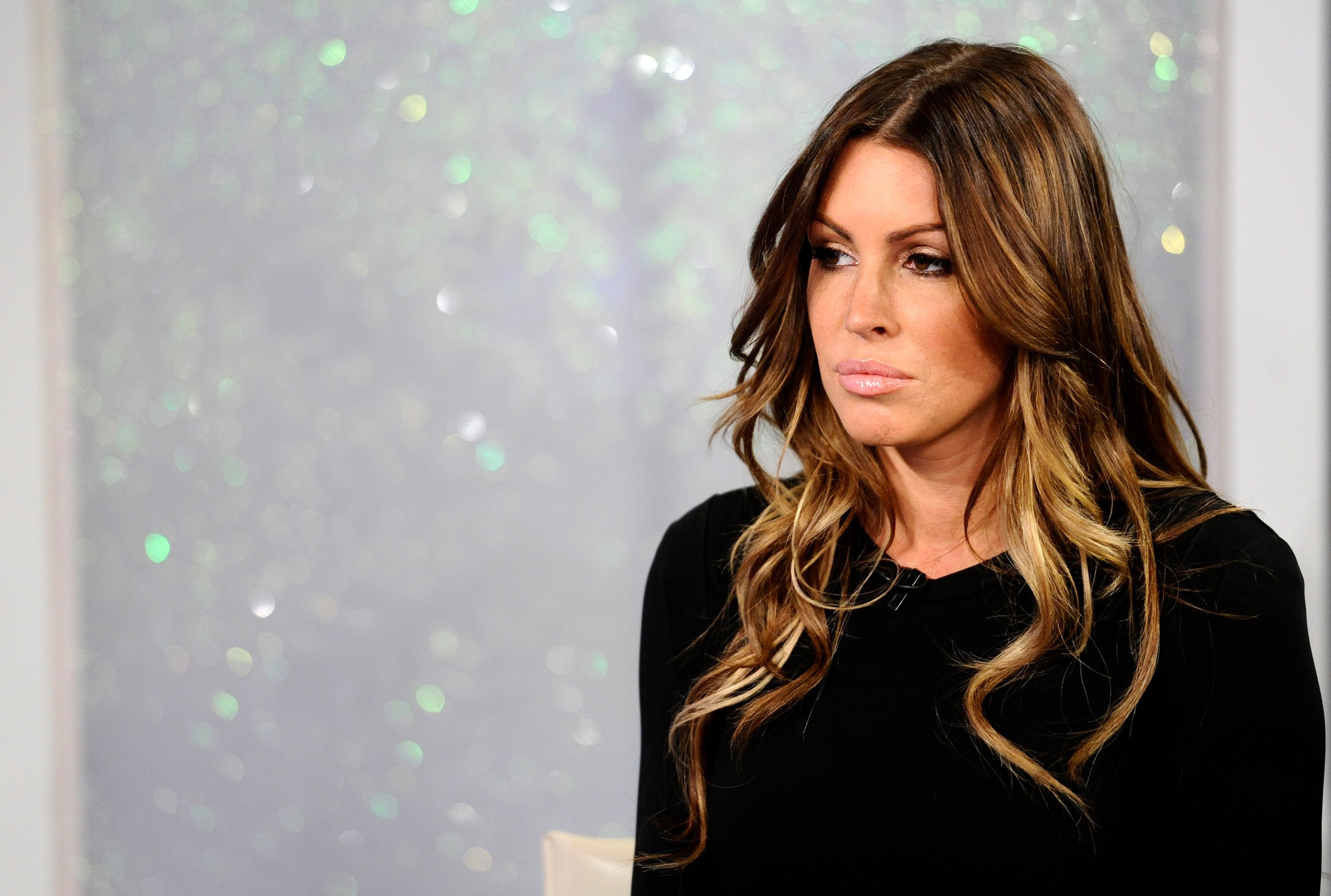 """Rachel Uchitel on NBC News' """"Today"""" show in 2010 