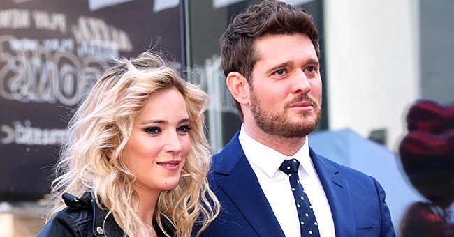 Michael Bublé Slammed after Elbowing Wife Luisana Lopilato in a Video