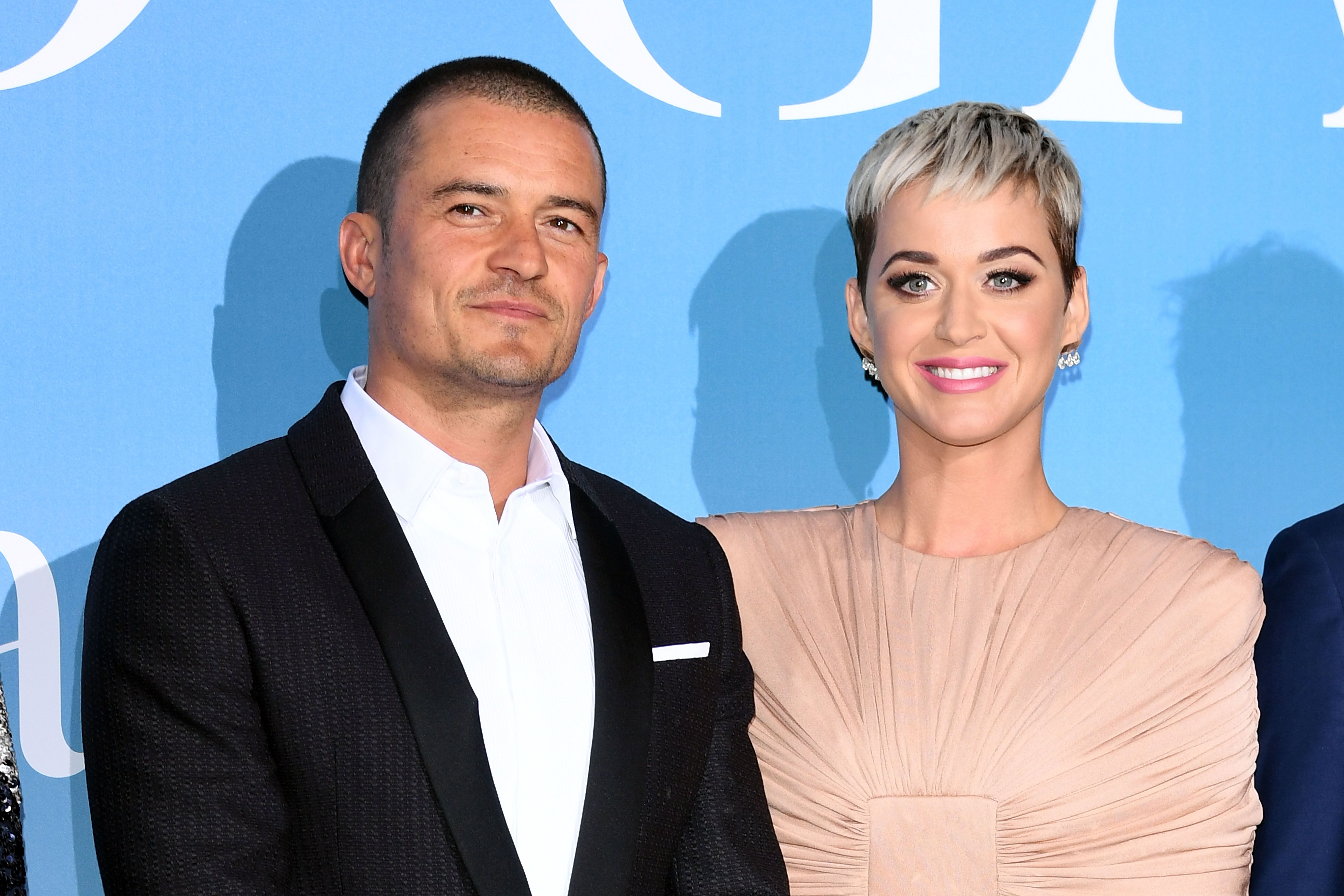 Orlando Bloom and Katy Perry at the Gala for the Global Ocean hosted by H.S.H. Prince Albert II of Monaco on September 26, 2018, in Monte-Carlo, Monaco   Photo: Daniele Venturelli/Getty Images