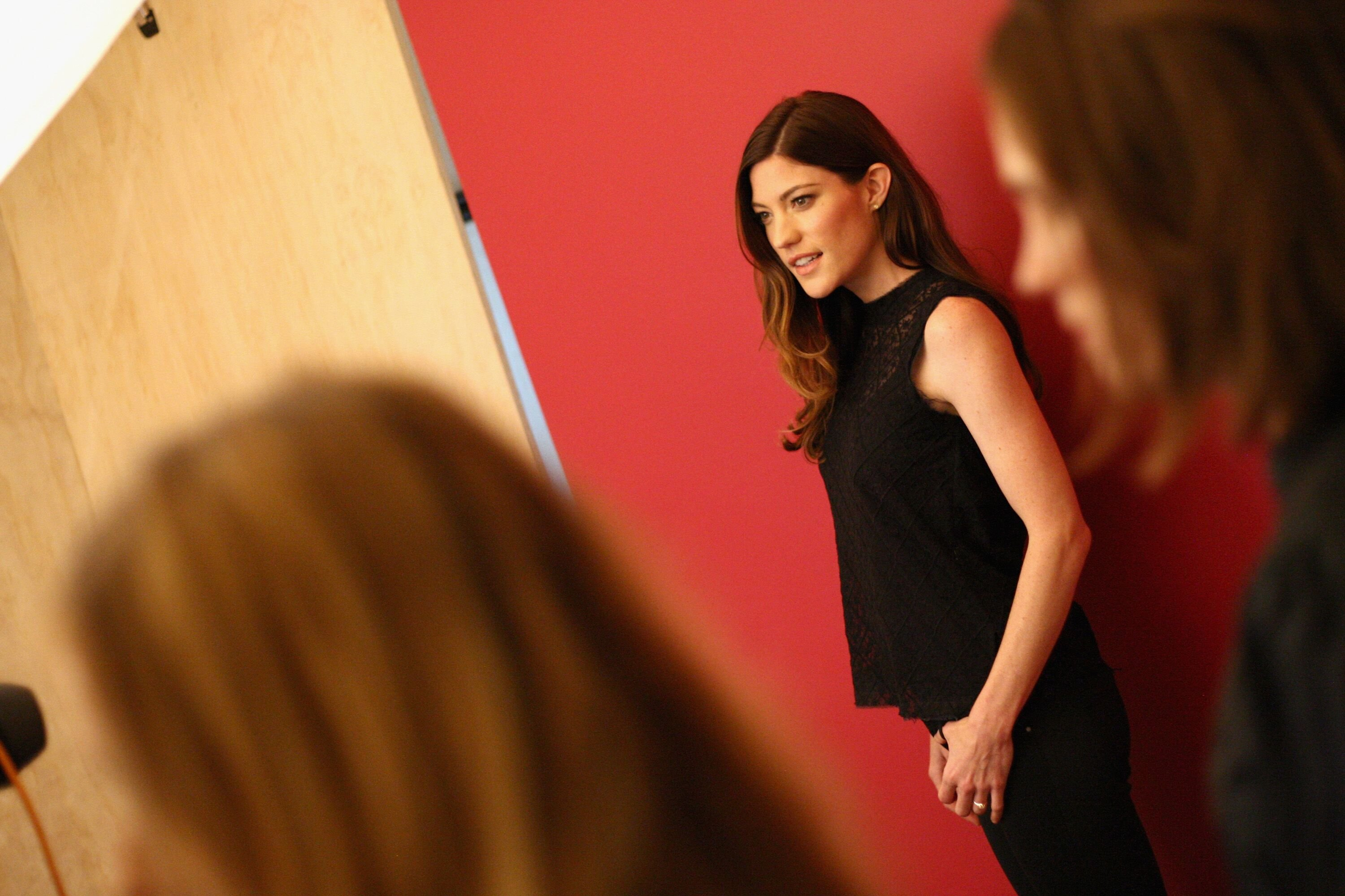 Jennifer Carpenter attends Behind The Scenes Of The Getty Images Portrait Studio Powered By Samsung Galaxy At 2015 Summer TCA's at The Beverly Hilton Hotel on August 10, 2015 in Beverly Hills, California. | Source: Getty Images