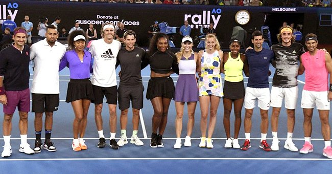 Serena Williams, Roger Federer & Other Tennis Legends Raise $4.8M for Australian Wildfire Relief through Charity Match