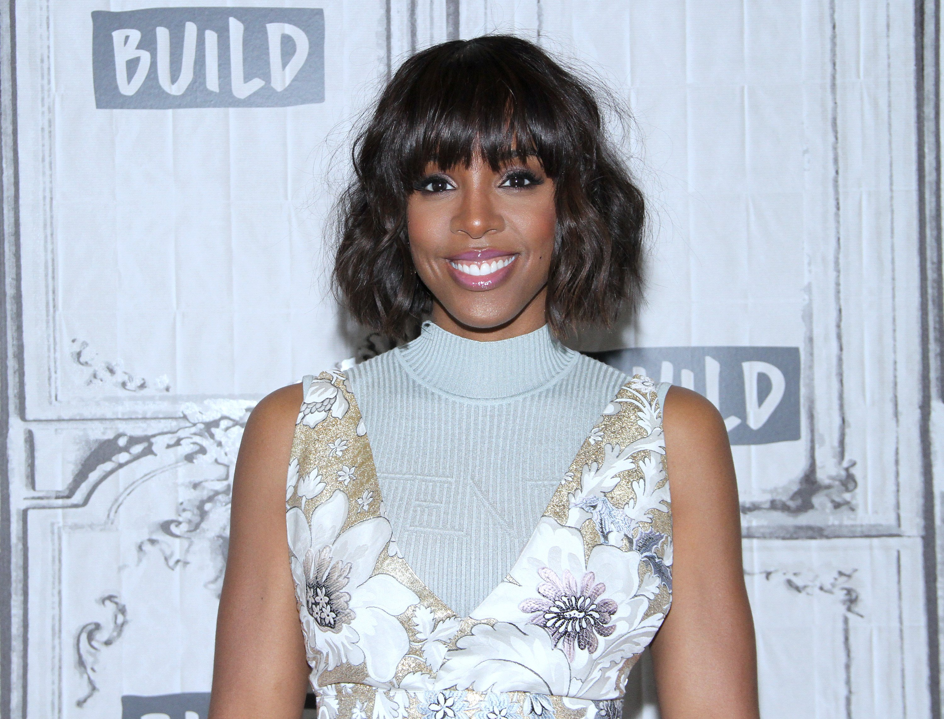 Kelly Rowland at the BUILD Series at Build Studio on April 11, 2017 in New York City| Source: Getty Images