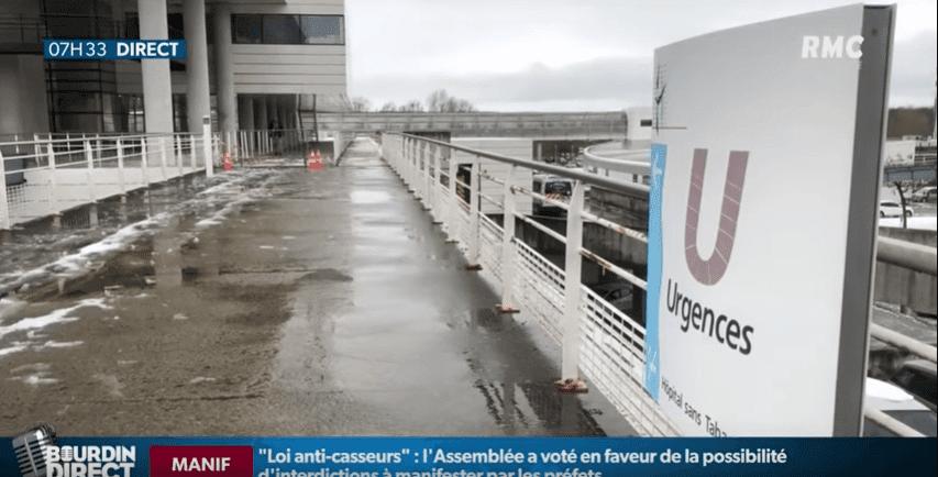Hôpital de Mantes-la-Jolie | Youtube / RMC