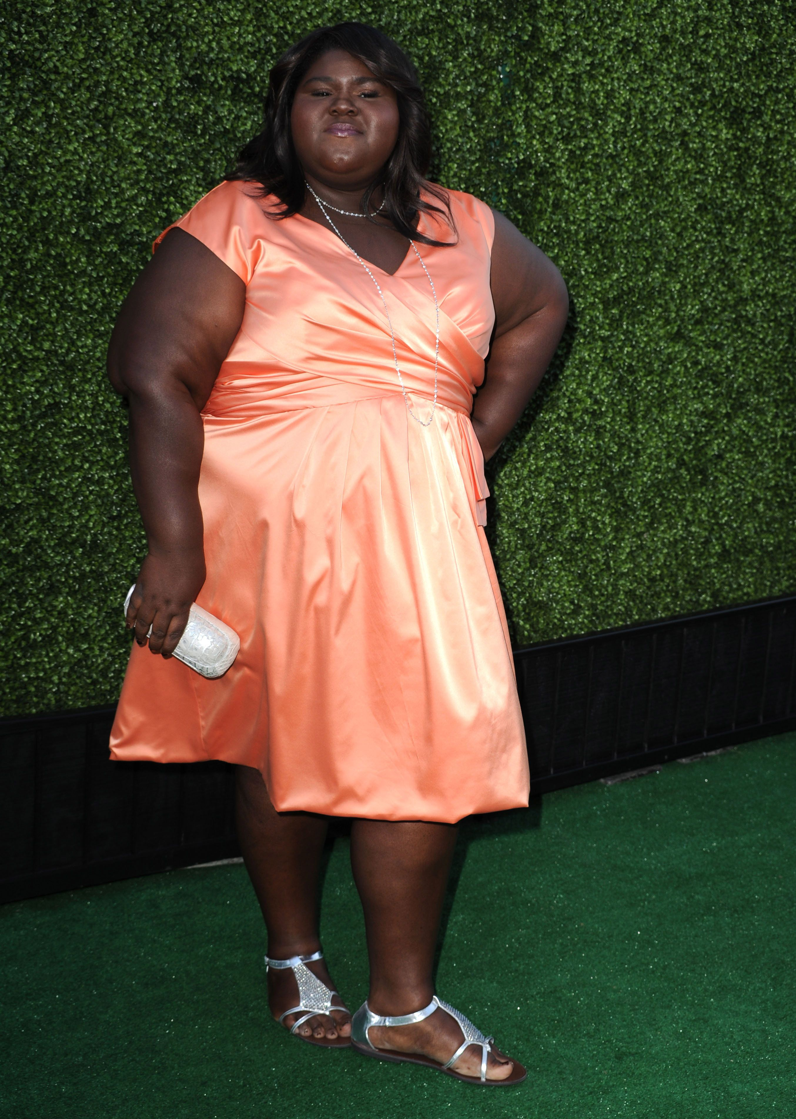 Gabourey Sidibe attends the 2010 CBS Summer Press Tour Party at The Tent on July 28, 2010 in Beverly Hills, California. | Source: Getty Images