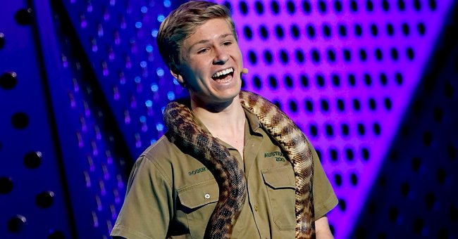Robert Irwin Amuses Fans with a Photo of His Bizarre Camera Assistant