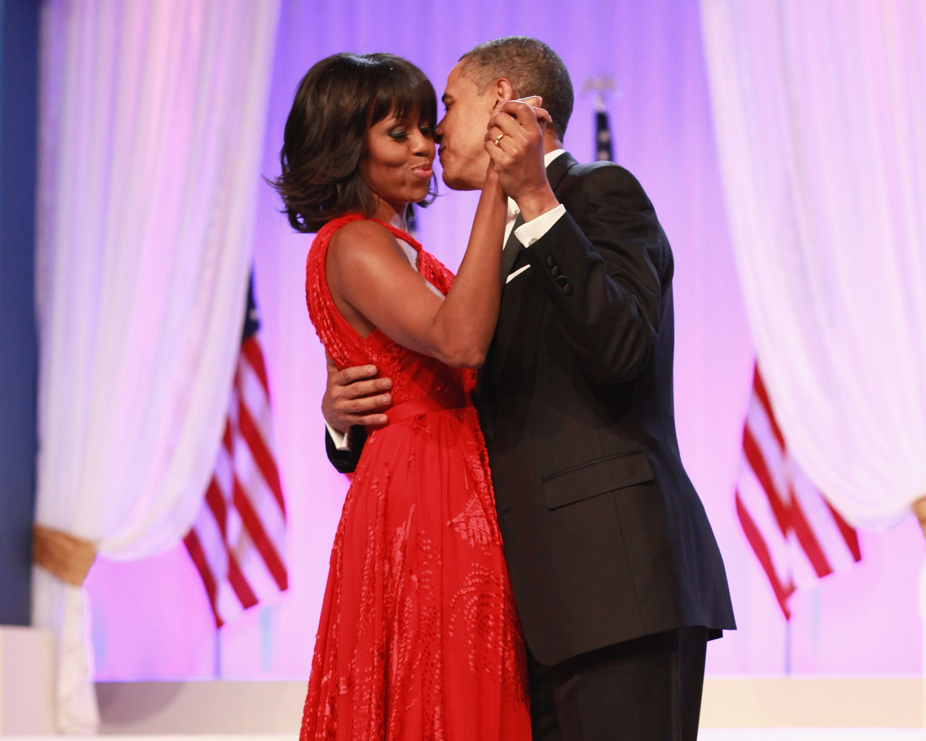 First Lady Michelle Obama and President Barack Obama at the Inaugural Ball on January 21, 2013, in Washington, United States | Photo: Taylor Hill/WireImage/Getty Images
