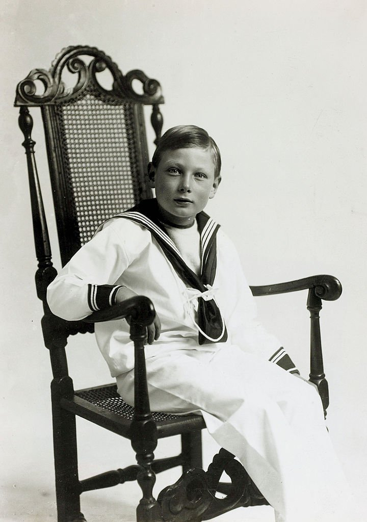 Prince John in a sailor suit in the UK circa 1914 | Photo: Getty Images