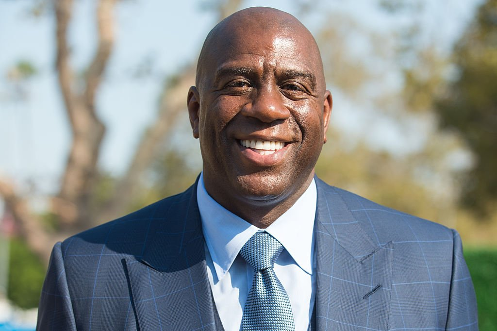 Earvin 'Magic' Johnson attends the Los Angeles Football Club stadium groundbreaking ceremony on August 23, 2016   Photo: Getty Images