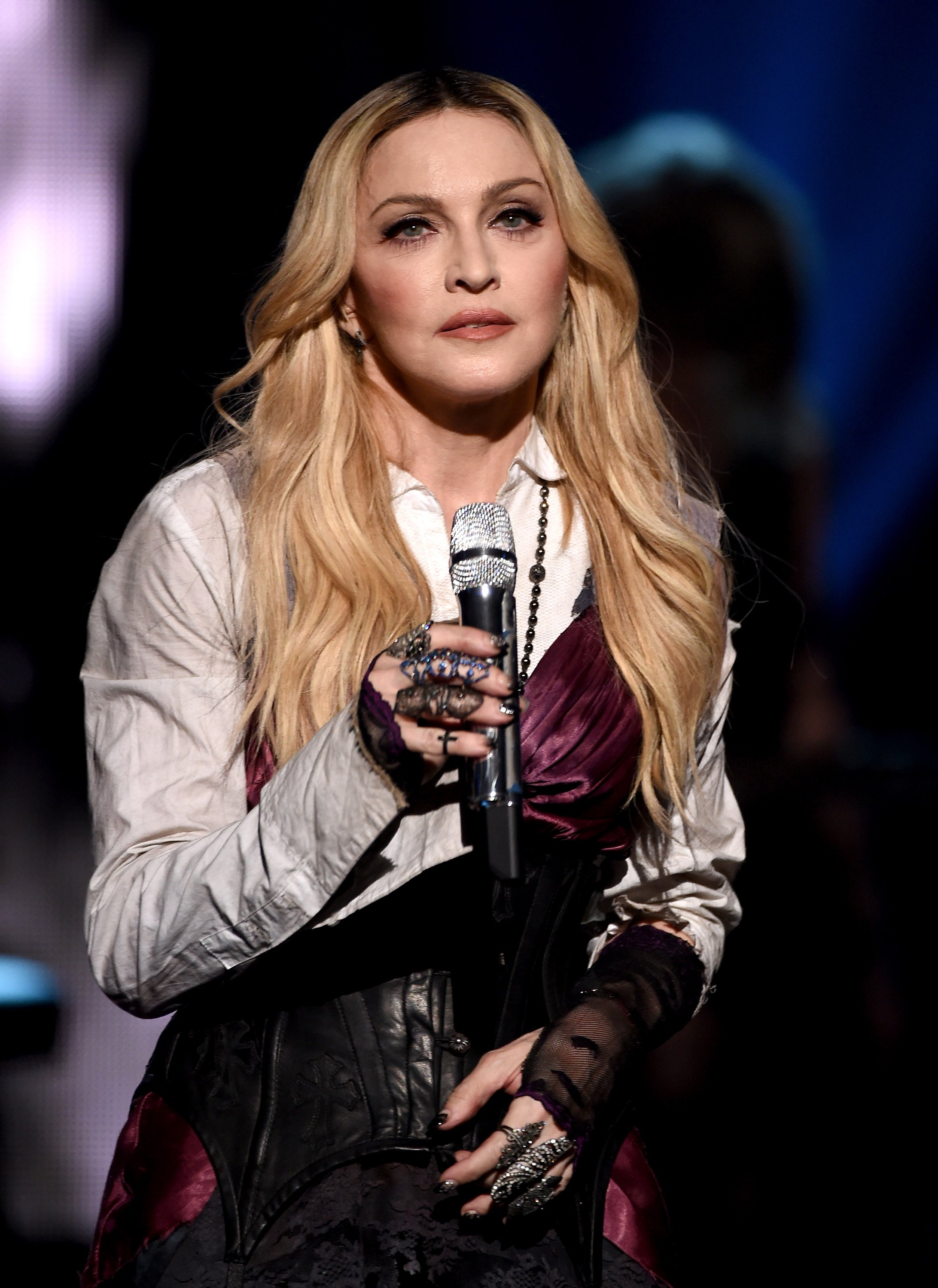 Madonna at the 2015 iHeartRadio Music Awards on March 29, 2015 in Los Angeles, California | Photo: GettyImages