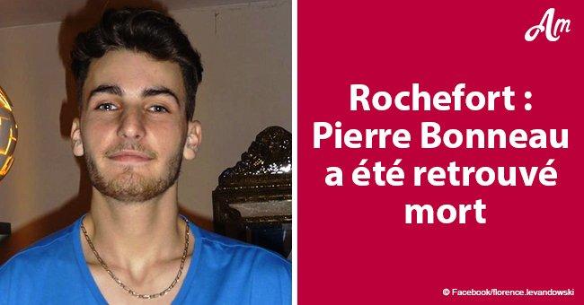 Disparition de Pierre Bonneau, 20 ans: le corps du jeune homme est retrouvé