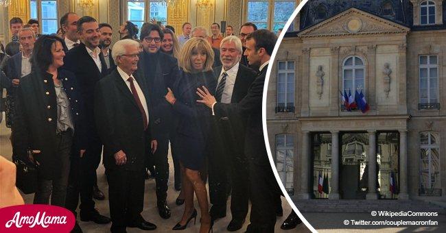 L'Elysée renouvelé: Brigitte et Emmanuel Macron célèbrent la fin des travaux (photo)