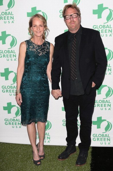 Helen Hunt and Matthew Carnahan at Avalon on February 20, 2013 in Hollywood, California.   Photo: Getty Images