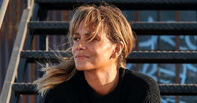 Halle Berry Exposes Her Toned Abs in a Sheer Butterfly Applique Crop Top & Tulle Skirt (Photos)