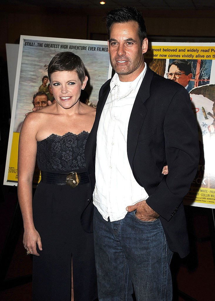 Natalie Maines and Adrian Pasdar arrive at the Gregory Peck Legends of Hollywood Stamp Series Ceremony at AMPAS Samuel Goldwyn Theater in April 2011 in Beverly Hills, California.   Photo: Getty Images