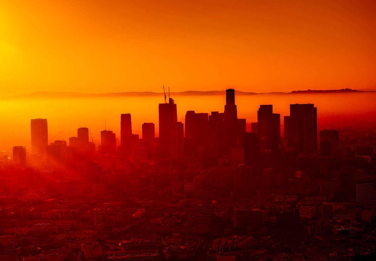 The city of Los Angeles. I Image: Pixabay.