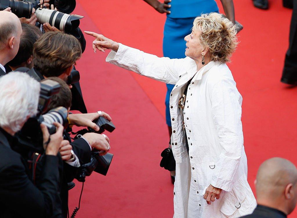 Annie Cordy au 69ème Festival de Cannes. l Source : Getty Images