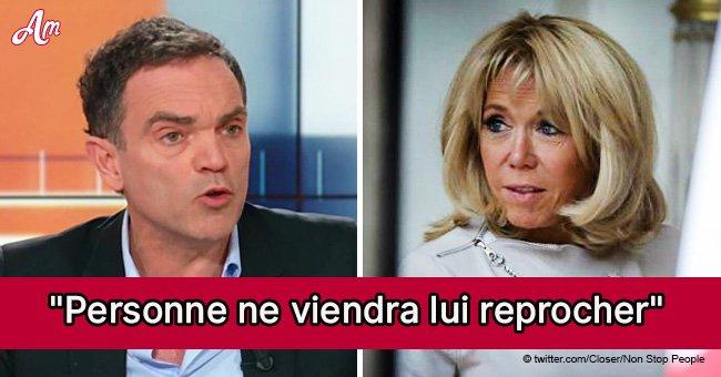 """Yann Moix, qui trouve """" les femmes de 50 ans trop âgées """", se compare à Brigitte Macron"""