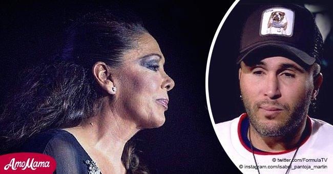 Reacción de Isabel Pantoja a fuerte y franco reconocimento de su hijo de su drogadicción