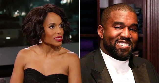 Kerry Washington Hilariously Revealed to Jimmy Kimmel She Sometimes Gets Texts Meant for Kanye West