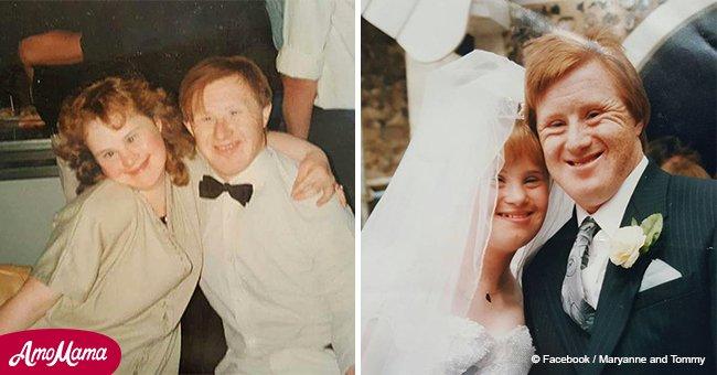 Nach 23 Jahren Ehe ist ein Paar mit Down-Syndrom noch