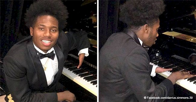 18-year-old born with 4 fingers touches people's hearts with his piano-playing skills