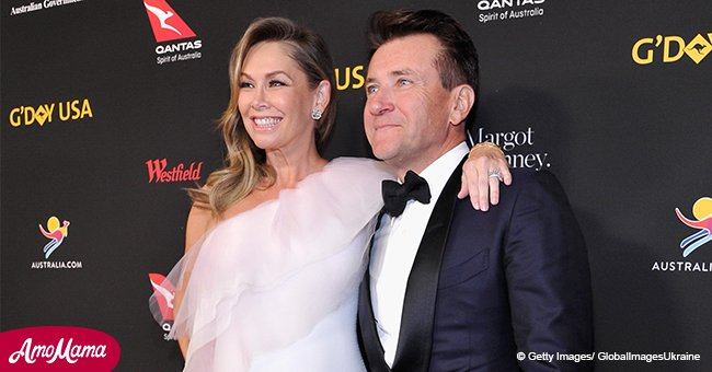 'DWTS' star Kym Herjavec shares adorable snap of newborn twins for Father's Day