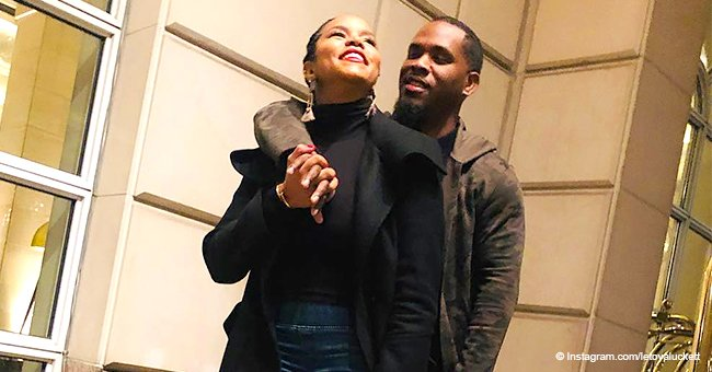 LeToya Luckett flaunts gorgeous body in sweet photo with husband 1 month after giving birth