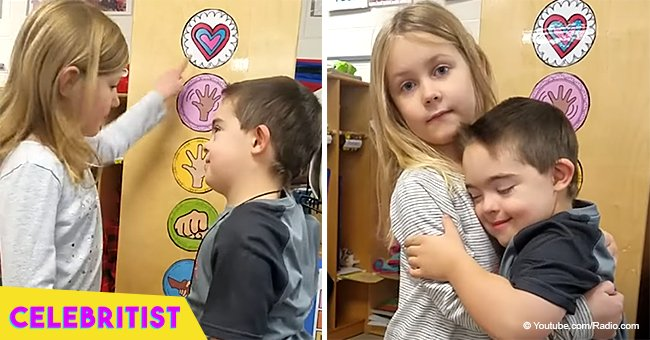 Adorable video of kindergartners greeting classmates with hugs went viral in 2018